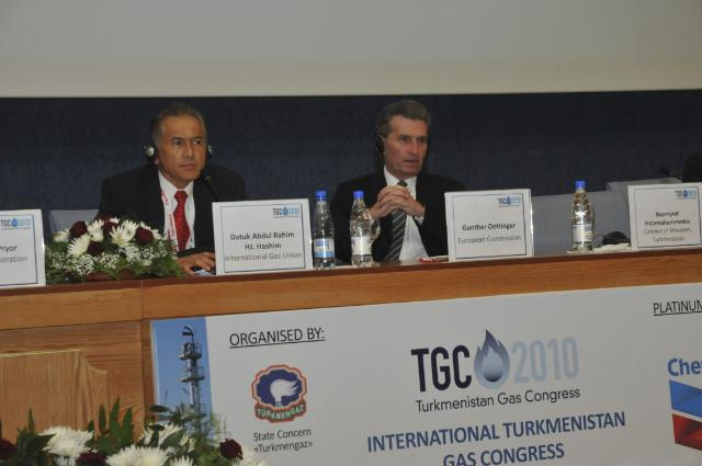 Visit of Günther Oettinger, Member of the EC, to Turkmenistan