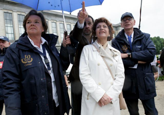 Launch of the 20 km of Brussels by Androulla Vassiliou, Member of the EC