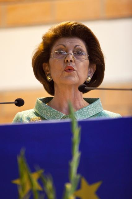 Participation of Androulla Vassiliou, Member of the EC, in the european Baccalaureate Ceremony