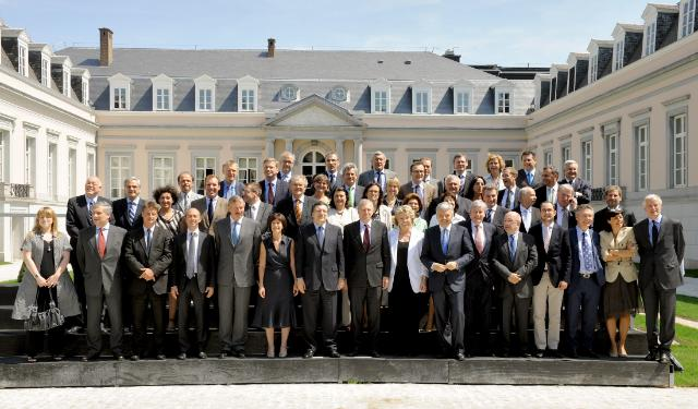 Inaugural meeting of the Belgian Presidency of the Council of the EU with the EC