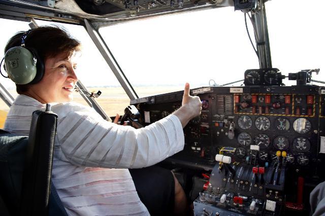 Visit of Kristalina Georgieva, Member of the EC, to Greece