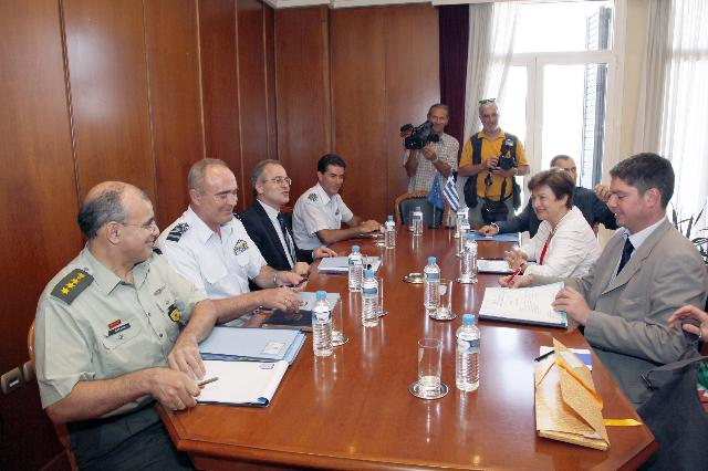 Visit of Kristalina Georgieva, Member of the EC, to Greece