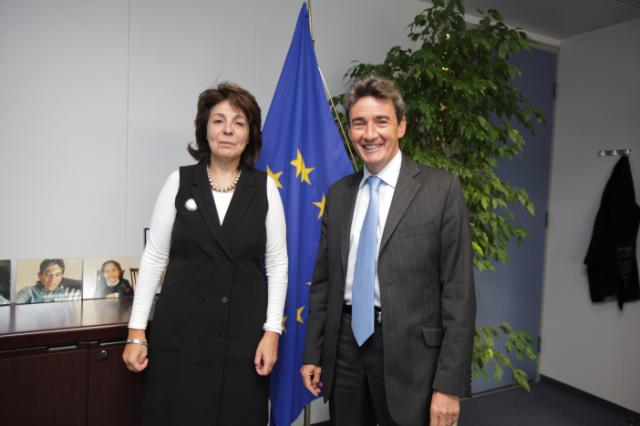 Visit of Philippe de Fontaine, Vice-President of the EIB, to the EC