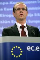 Conférence de presse d'Algirdas Šemeta, membre de la CE, sur la taxation du secteur financier