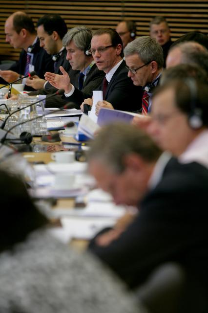 Première réunion du nouveau Groupe de politique fiscale