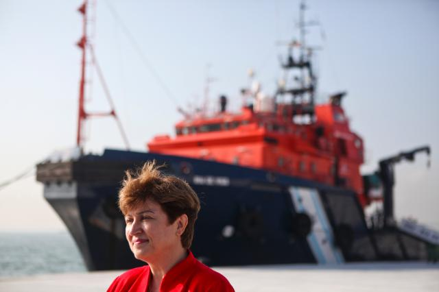 Visit of the European Maritime Safety Agency, in Lisbon, by Kristalina Georgieva, Member of the EC