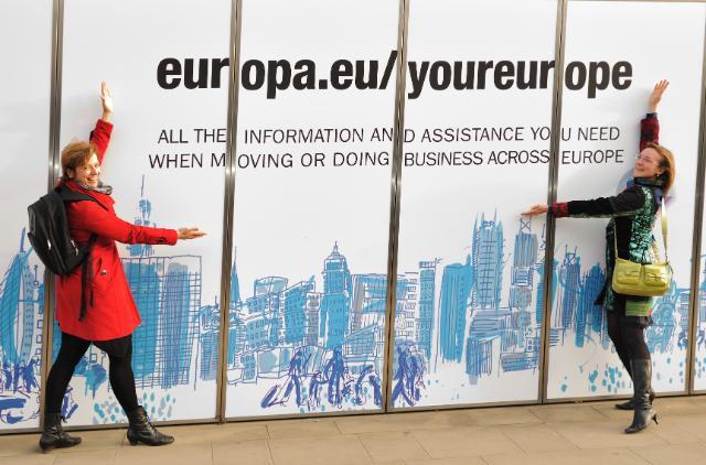 Coup de projecteur sur le portail : l'Europe est à vous