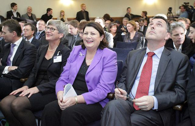 Participation of Máire Geoghegan-Quinn, Member of the EC, at the Launch of the European Holocaust Research Infrastructure (EHRI)