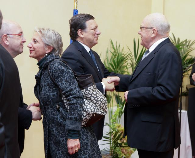 Annual New Year reception of the EC