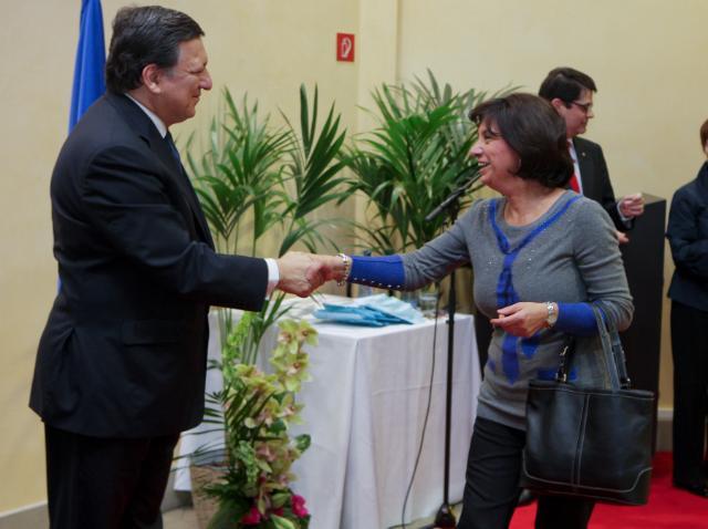 Réception annuelle de Nouvel An de la CE