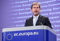 Press conference by Johannes Hahn, Member of the EC, on Regional Policy's Contribution to Sustainable Growth in Europe 2020