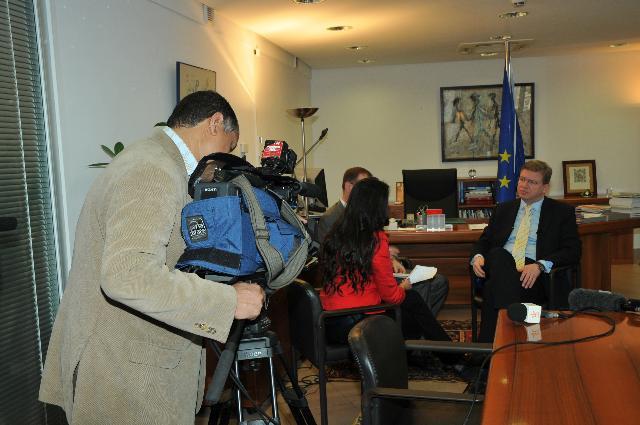 Visite de Štefan Füle, membre de la CE, au Maroc