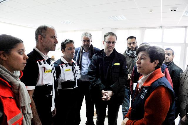 Visite de Kristalina Georgieva, membre de la CE, en Tunisie