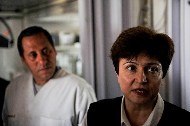 Visit of Kristalina Georgieva, Member of the EC, to Tunisia