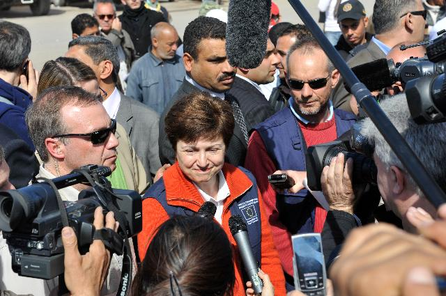 Visit of Kristalina Georgieva, Member of the EC, to Tunisia