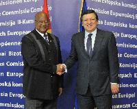 Visit of Carlos Gomes Júnior, Prime Minister of Guinea-Bissau to the EC