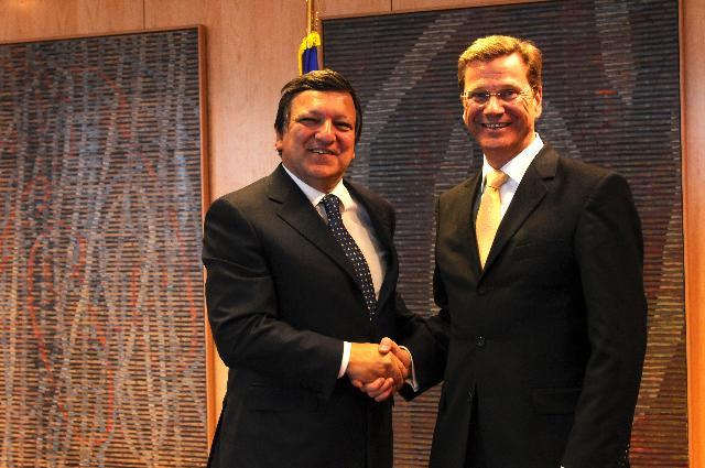 Visit of Guido Westerwelle, German Federal Minister for Foreign Affairs, to the EC