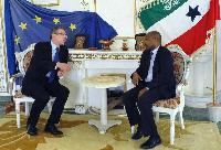 Visit of Andris Piebalgs, Member of the EC, to Somaliland