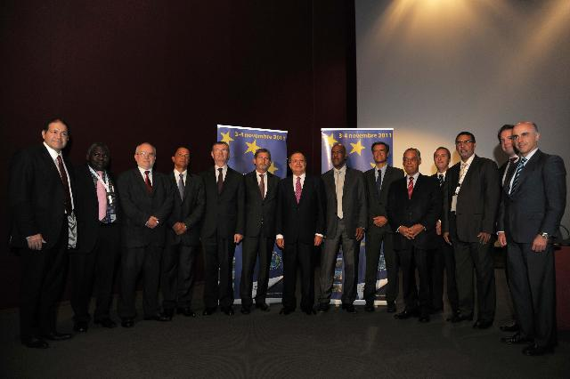 Visit of Johahnnes Hahn, Member of the EC, to Martinique