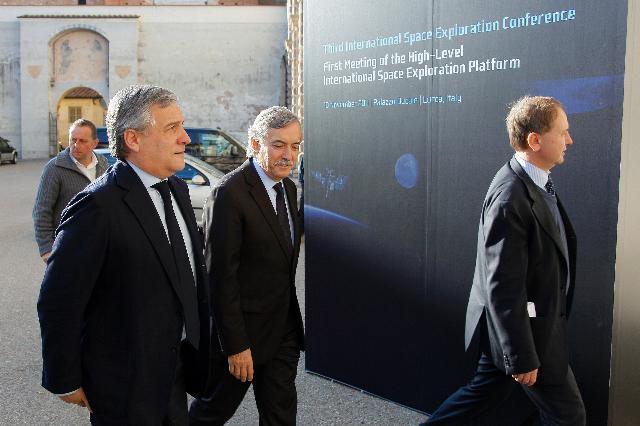 Participation d'Antonio Tajani, vice-président de la CE, à la 3e conférence internationale sur l'exploration spatiale - 1re plateforme internationale de haut niveau sur l'exploration spatiale