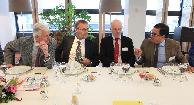 Lunch offered by Michel Barnier and László Andor, Members of the EC, on the occasion of the conference Together to create new growth: Promoting Social entrepreneurship in Europe