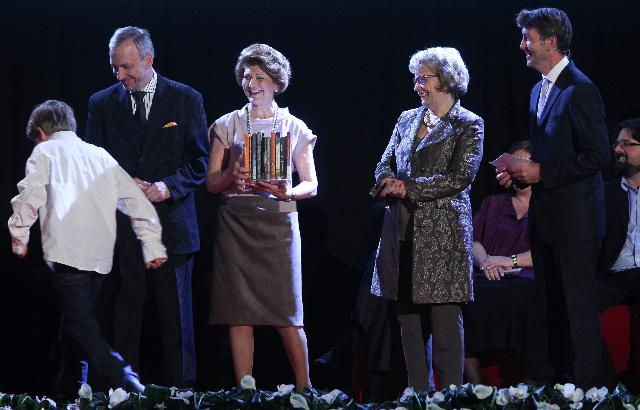 Award ceremony for the 2011 European Union Prize for literature