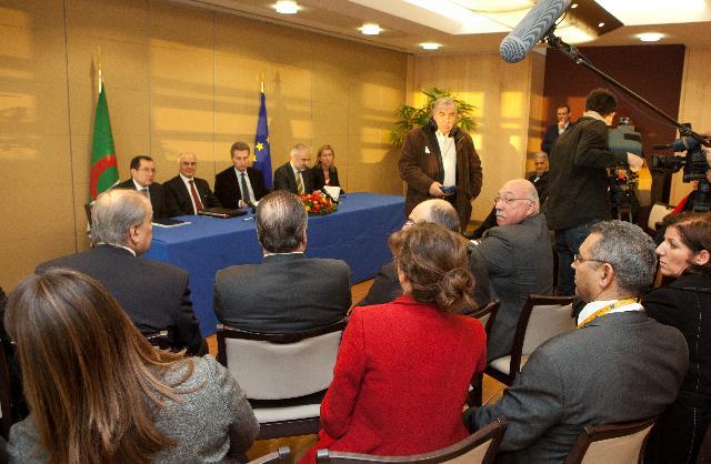 Signature of a Memorandum of Understanding between the Desertec Industry Initiative and Sonelgaz