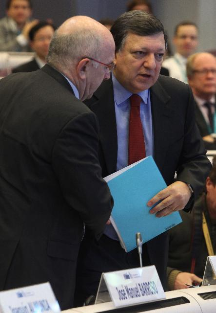 Participation of José Manuel Barroso, President of the EC, and Joaquín Almunia, Vice-President of the EC, in the European Competition Forum