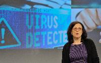 Press conference by Cecilia Malmström, Member of the EC, on the establishment of a European Cybercrime Centre