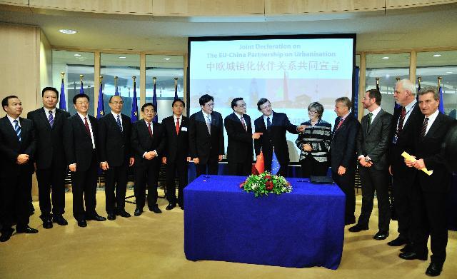 Participation de José Manuel Barroso, président de la CE, à une réunion de haut niveau UE/Chine sur l'Energie