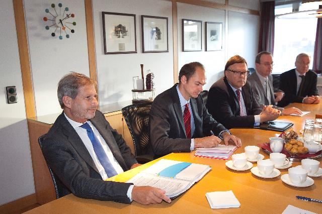 Visit of Johannes Hahn, Member of the EC, to Iceland