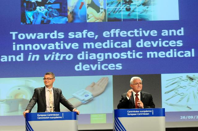Press conference by John Dalli, Member of the EC, on new rules concerning medical devices