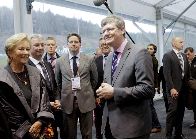 Participation of László Andor, Member of the EC, to the EuroSkills 2012 in Spa Francorchamps
