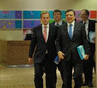 Visite d'une délégation du gouvernement irlandais à la CE