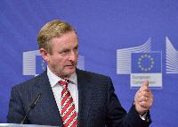 Visit of a delegation from the Irish government to the EC