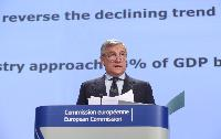 Press conference by Antonio Tajani, Vice-President of the EC, on the industrial policy communication update