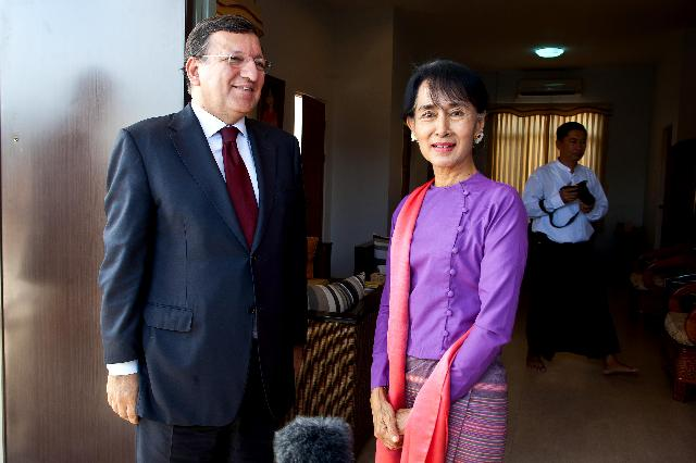 Visit of José Manuel Barroso, President of the EC, to Burma/Myanmar
