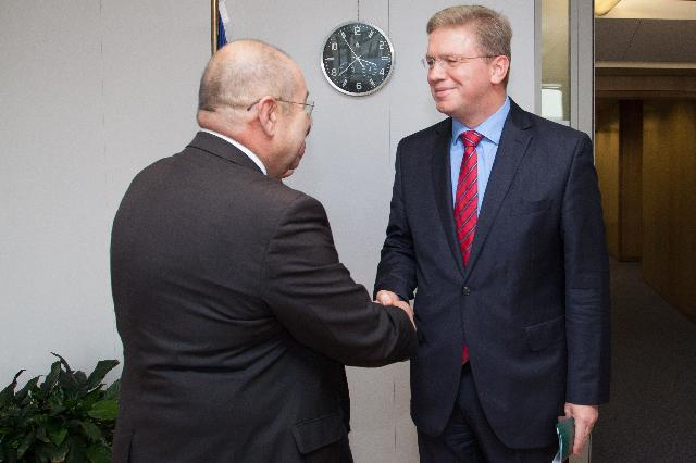 Visit of István Pásztor, President of the Assembly of the Autonomous Province of Vojvodina, to the EC