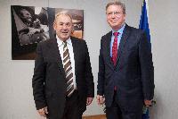 Visite d'István Pásztor, président de l'Alliance de la province autonome de Voïvodine, à la CE