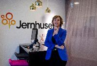Visit of Connie Hedegaard, Member of the EC, to the Swedish company Jernhusen, owner of the innovative plan to use human body heat as a source of renewable energy