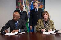 Signature by the EU of a major support to pioneering renewable energy and water plant in Djibouti