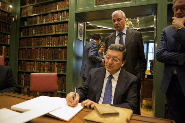 Visit of José Manuel Barroso, President of the EC, to the Netherlands