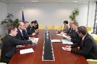 Meeting with Oleg Proskuryakov, Ukrainian Minister for Ecology and Natural Resources, Brussels