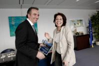 Visit of Stavros Kalafatis, Greek Alternate Minister for Environment, Energy and Climate Change, to the EC