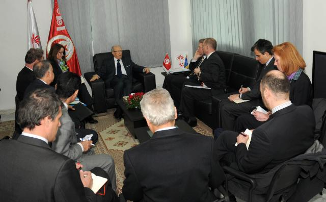 Visit of Štefan Füle, Member of the EC, to Tunisia