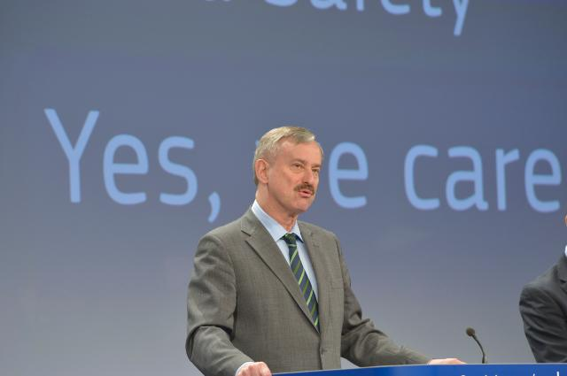 Press conference by Siim Kallas, Vice-President of the EC, on the statistics on road safety for 2012 and the EU Road Safety Programme 2011-2020