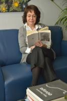 Maria Damanaki, Member of the EC, while reading for the campaign 'Get Caught Reading'