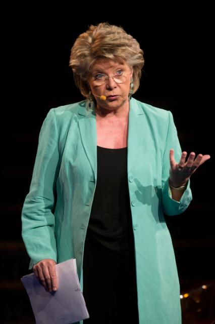 Citizens' Dialogue in Brussels with Viviane Reding