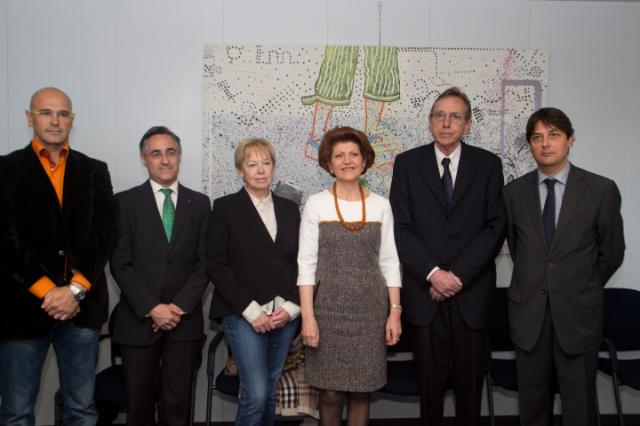 Visit to the EC of a delegation of the Spanish Members of the EP