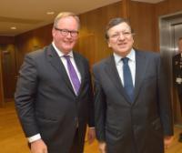 Visite d'un groupe de parlementaires néerlandais du groupe parlementaire VVD à la CE